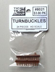 TURNBUCKLES-HO-1-87-SCALE-LAYOUT-DIORAMA-TICHY-TRAINS-8021