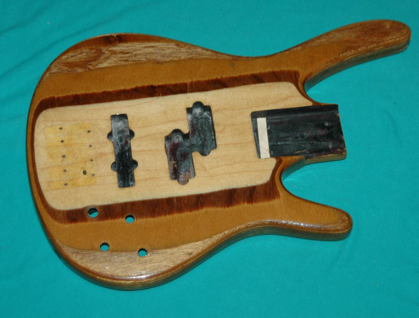 Very Rare 1990 Washburn AXXESS Active Bass Guitar Original Body