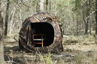 2 Man Shooting Hunting Hide Tent Blind Camo Pop Up Stalking Carp Fishing Bivvy F