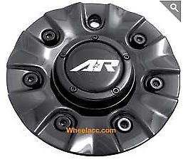 American Racing AR363 Haze 1663206016 SC-134A SC-134B Black Wheel Center Cap