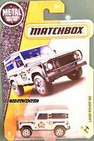 Matchbox 2017 Metal Parts Piezas Land Rover 90