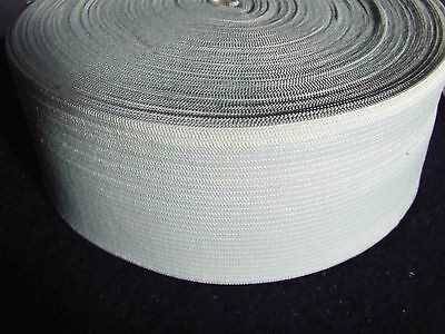 6 Metres White 35 mm Elastic Ribbon Tape skirt trousers other sewing fastenings