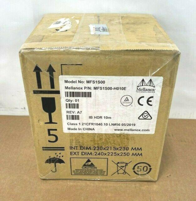 ⭐NEW Mellanox 200Gb/s HDR QSFP56 Active Optical Cable Fiber Op Network cable 10m