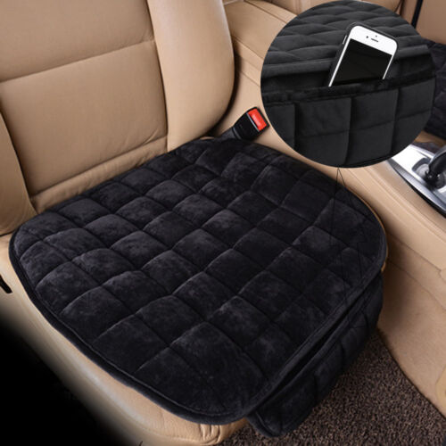 Universal Antideslizante asiento de coche cubierta de la silla almohadilla almohadilla blanda cálida Cojín Protector