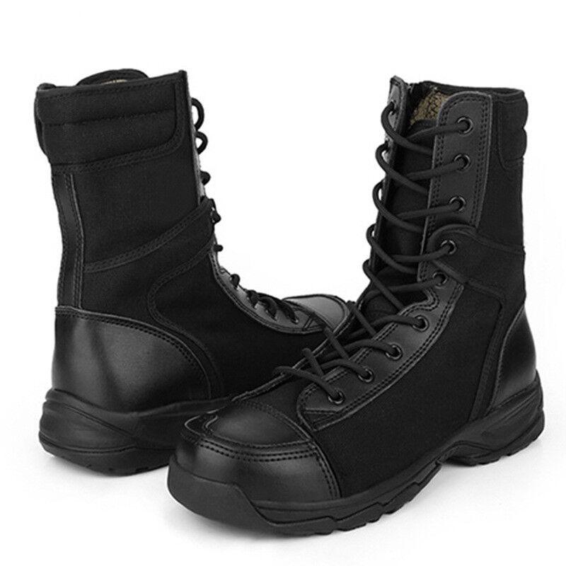 Men Women Army Tactical Boot Combat Outdoor Work Climbing Training Comfort shoes