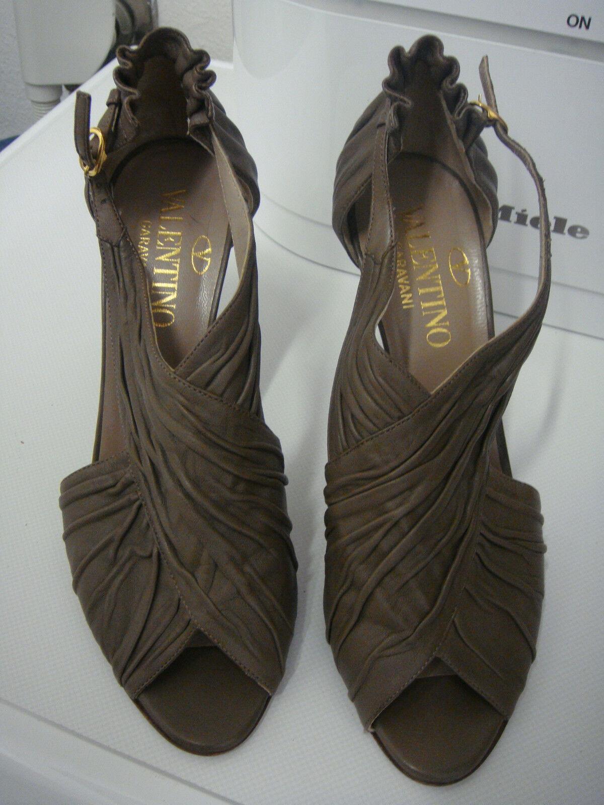 VALENTINO GARAVANI Schuhe Gr.40 Taupe