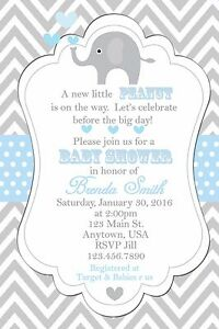 Baby shower invitation elephants invitation baby shower image is loading baby shower invitation elephants invitation baby shower invitations filmwisefo