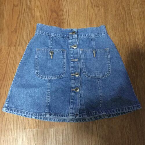 Vintage Unionbay Denim Mini Skirt Juniors Size 3 … - image 1