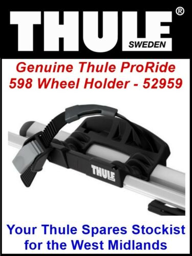 REPLACEMENT REAR WHEEL HOLDER FOR THULE 598 PRORIDE BIKE CYCLE CARRIER 52959