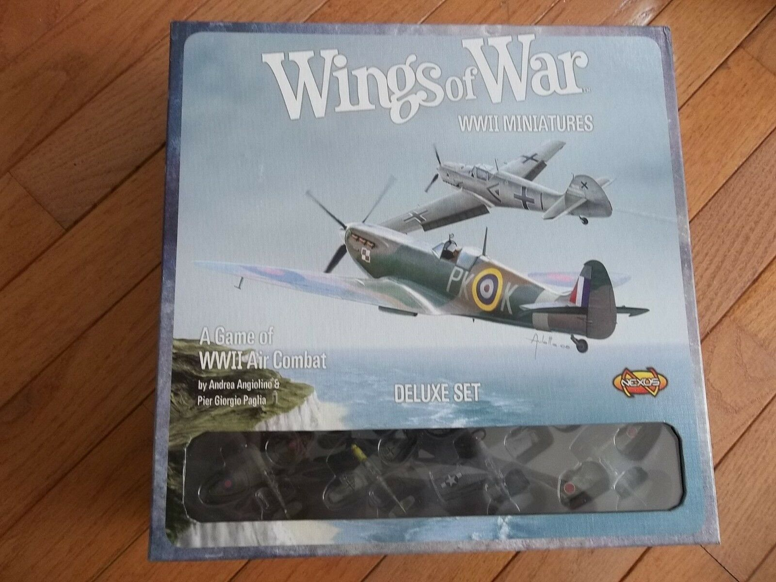 Nexus Wings of of of War WWII Miniatures Deluxe Set unpunched e74150
