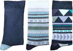 3-Pairs-of-Ladies-JA53-Patterned-Cotton-Socks-by-Jennifer-Anderton-UK-Size-4-8