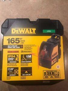 Dewalt DW088K 2 Way Self-Levelling Cross Line Laser Level DW088 DW088k