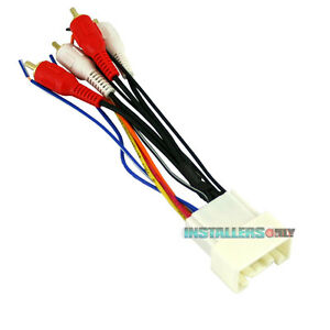 image is loading aftermarket-car-stereo-radio-wiring-harness-toyota-8113-