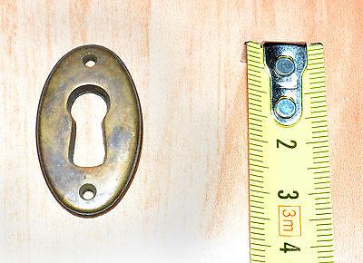 Bocchetta per chiave MOBILI ANTICHI Restauro in Ottone Antico
