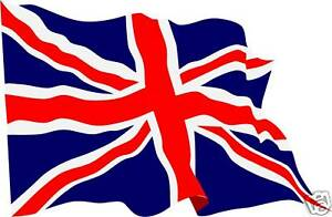 Image is loading Waving-Union-Jack-flag-stickers-X-4-decals-