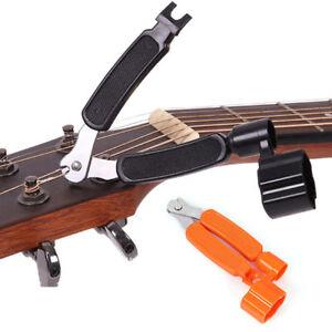 functional guitar string peg winder cutter clippers bridge pin puller bass accs ebay. Black Bedroom Furniture Sets. Home Design Ideas
