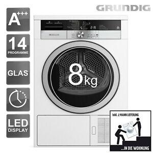 GRUNDIG-Waermepumpentrockner-A-GTA-38263-G-8kg-Waeschetrockner-Trockner-2ML