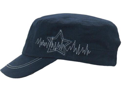 GROJADORI Military Cuba Cap Kuba Cap Kappe Mütze mit Stern Aplikation Unisex