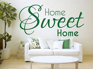 A Imagem Está Carregando Home Sweet Home Wall Sticker Living Room Vinyl  Part 87