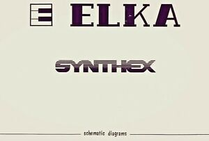 ELKA-SYNTHEX-Schematic-Diagram-Users-Manual-Schaltplan-PCB-Layout-Techniques