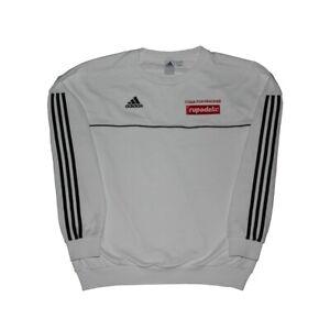 Details about Gosha Rubchinskiy x Adidas Crewneck Sweatshirt White Large