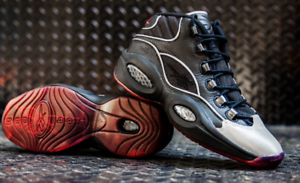 Reebok Question Mid Allen Iverson 12 11 13 The Answer black IV 4 5 ... 7e3ab3980