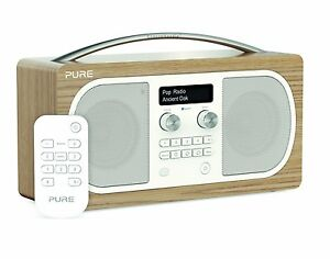 pure d6 dab digital fm alarm clock radio radio with bluetooth ebay. Black Bedroom Furniture Sets. Home Design Ideas