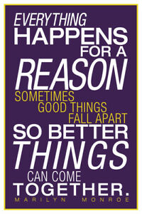 Marilyn-Monroe-Everything-Happens-For-A-Reason-Inspirational-Art-Poster-12x18