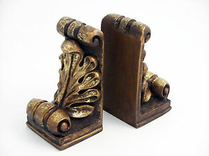Image Is Loading Bookend Fleur De Lis Office Desk Sculpture Bookends