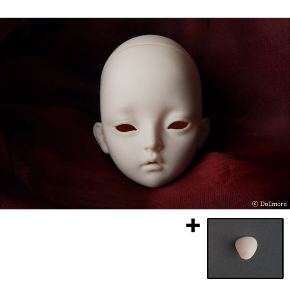 8-9 inch SD Dollmore Eve Doll Head - Mio (Normal Skin)
