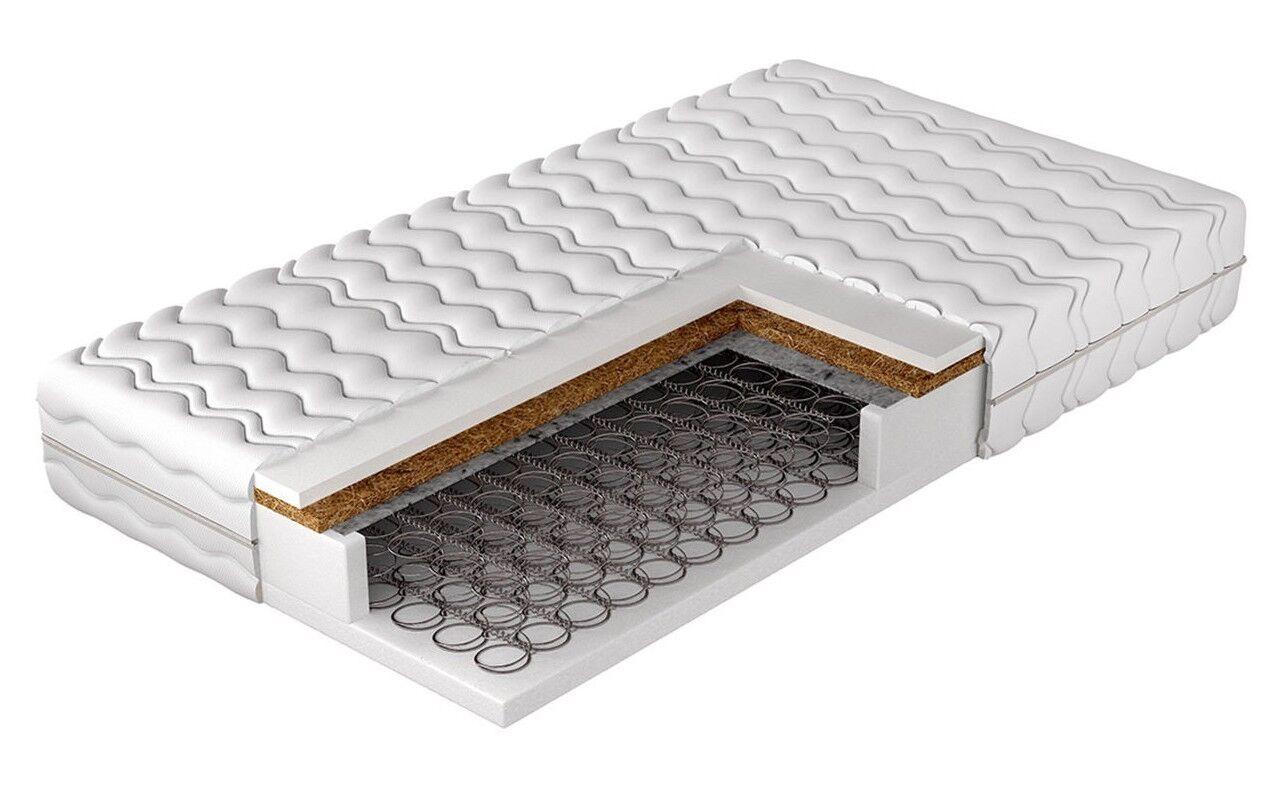 Matratze Kusamo Kokosmatte Haltbarkeit und Schlafkomfort Polyurethan Schaumstoff