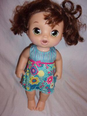 Baby Alive Sweet Tears Baby Brown Hair Brunette Cries