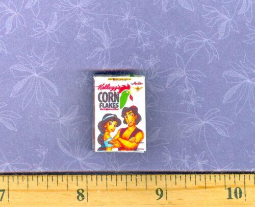 Dollhouse  MINIATURE Size  Cartoon Cereal Box  # A
