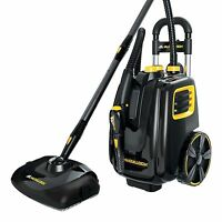 Mcculloch Mc1385 Deluxe Canister Steam System, Powerful Carpet Cleaner Vacuum