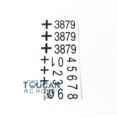 HengLong Decal Paster Sticker 1//16 German Panther G RC Tank 3879