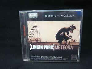 Linkin-Park-Meteora-Chinese-Press-Gold-Colour-HDCD-2CD-RARE-VG-New-Case