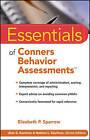 Essentials of Conners Behavior Assessments by Elizabeth P. Sparrow (Paperback, 2010)