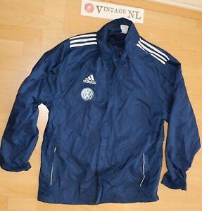 ADIDAS-VW-nylon-vintage-VOLKSWAGEN-regen-Jacke-sport-jacket-CA-GR-XL-SHELL-2011