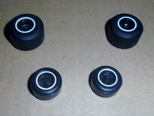 wheels spares Scalextric brand new grippy small /& large slick car tyres tires