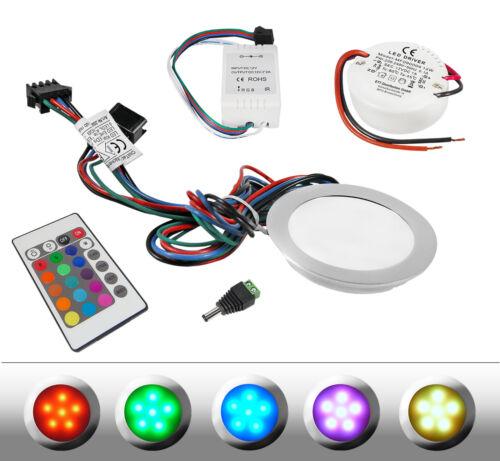 RGB LED Einbauleuchte RGB LED Einbaustrahler RGB LED Einbauleuchten RGB Portia