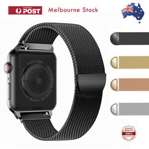 For-Apple-Watch-Series-6-5-4-3-2-1-SE-Stainless-Steel-Milanese-Strap-Band-40-44