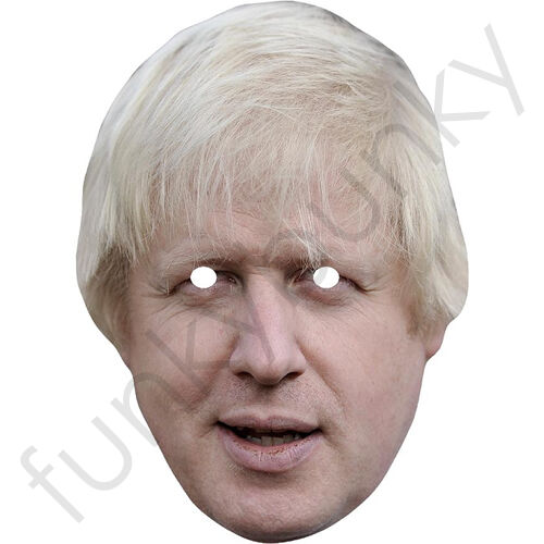 Boris Johnson uomo politico celebrità maschera DI CARTA-tutte le nostre Maschere sono pre-tagliati!