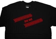 TOYOTA LAND CRUISER HILUX SURF PRADO Amazon Rav4 FANGO PNEUMATICO T-shirt di cotone