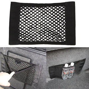 universal car seat side back storage net mesh bag phone holder pocket organizer ebay. Black Bedroom Furniture Sets. Home Design Ideas