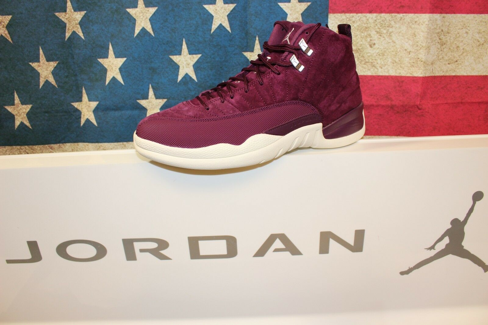 Nike Jordan Retro 12  Bordeaux  130690-617 Brand New DS Size 12