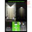 136 LED 3 Modes Solar Motion Sensor Lights Wireless Outdoor Solar Lights with...