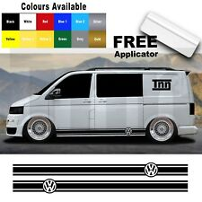 VW Volkswagen Transporter T4 T5 Camper Van Stripes Stickers Graphics Decals Viny