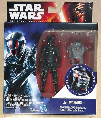 First Order TIE Fighter Pilot Star Wars Army Builder Force Awakens Unopened New!