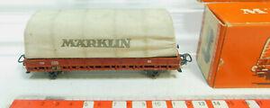 BL694-0-5-Maerklin-H0-AC-Planewagen-313-3-4609-von-1956-sehr-gut-OVP
