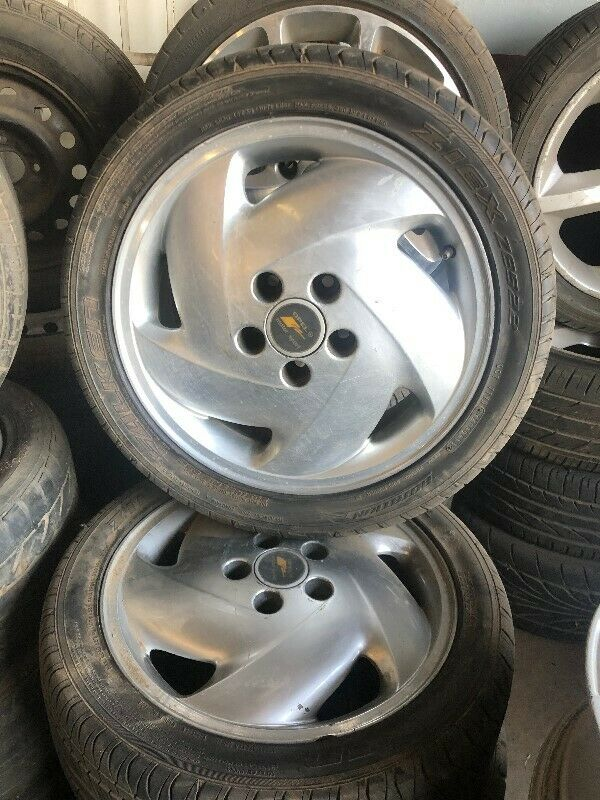 Opel Kadett TS Complete Set of Mags and Tyres Now For Sale